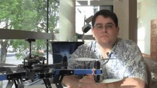 John Hawley Talks About UAV Controls (Video)