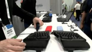 Mechanical 'Clicky' Keyboards Still Have Followers (Video)