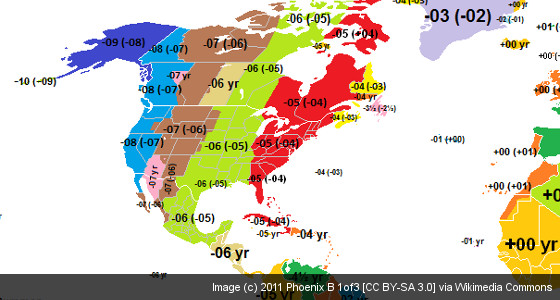 daylight savings time vs eastern standard time