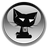 Black Cat Browser Icon