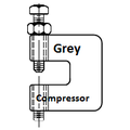 Grey Compressor+FTP Icon