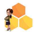 HoneyComb Margo Icon