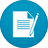 Ampare Notepad and Reader Icon