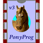 PonyProg: serial device programmer Icon