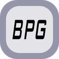 Simple BPG Image viewer Icon