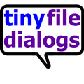 tiny file dialogs (cross-platform C C++) Icon