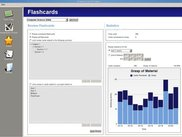 View statistics on your current knowledge of your flashcards