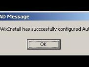Message when the demo has been successfully installed.