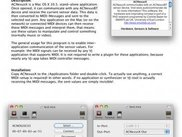 ACNexusX, a Mac OS X (10.5.x) stand-alone application