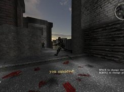 A player accidentally blowing himself up with his own grenade.