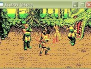 AcuDOS running Golden Axe