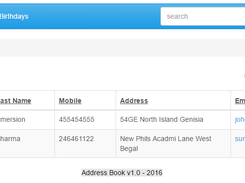 Book php address