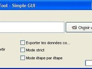 ADF MAGE-ML Tool Simple GUI in French