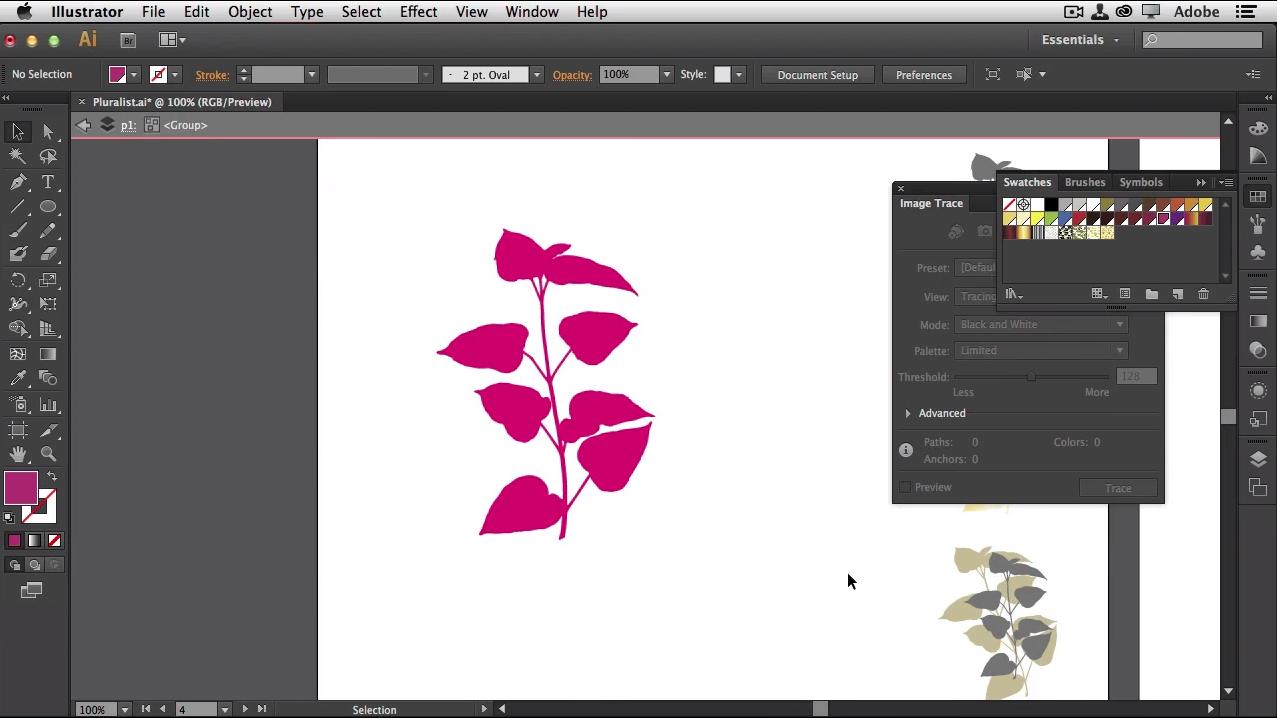 adobe illustrator screenshot