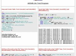 ADOdb Lite Test Program Example Page 1