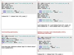 ADOdb Lite Test Program Example Page 2