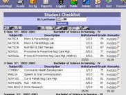 Student Grades and Checklist
