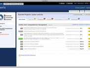 Project Management Main Screen