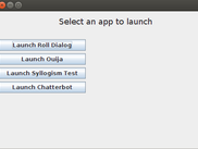 AppLauncher provides disparate tools.