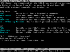 Emacs on the next version