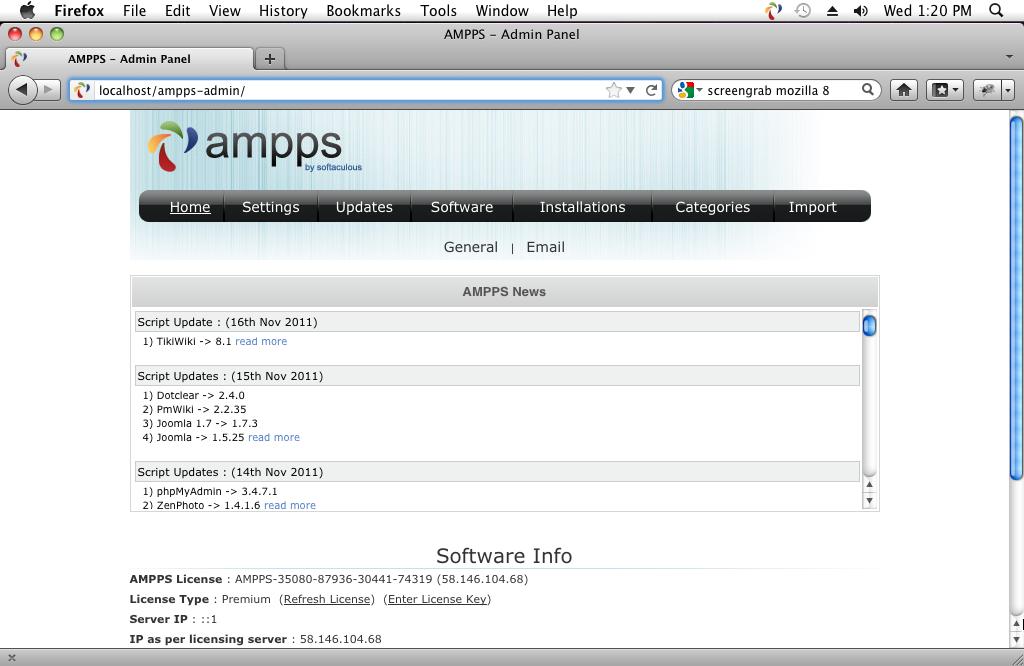 AMPPS download | SourceForge net