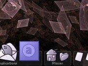Dock with icon zoom.  No labels yet, but multiple segments!
