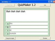 QuizMaker program to make your quiz questions