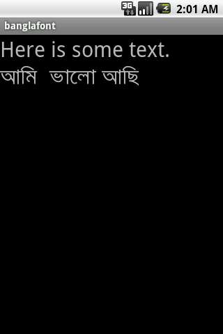 Bangla font download for android mobile