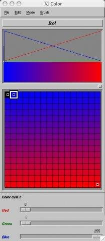 Icol Color Map Editor