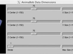 AnimaBob Dimensions Dialog