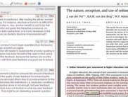 Discussion page in the Annotation tool
