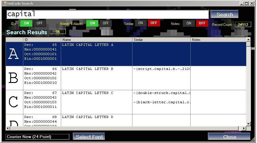 ANSI/ASCII Converter download   SourceForge net