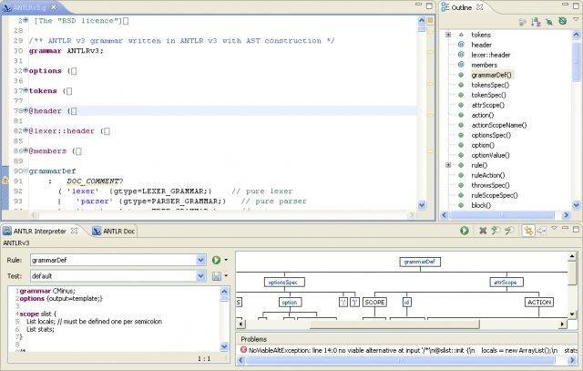 ANTLR IDE download | SourceForge.net