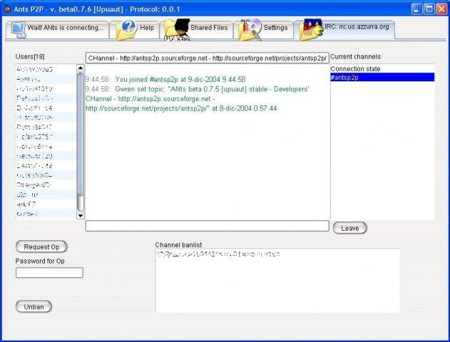 ANts P2P download | SourceForge net