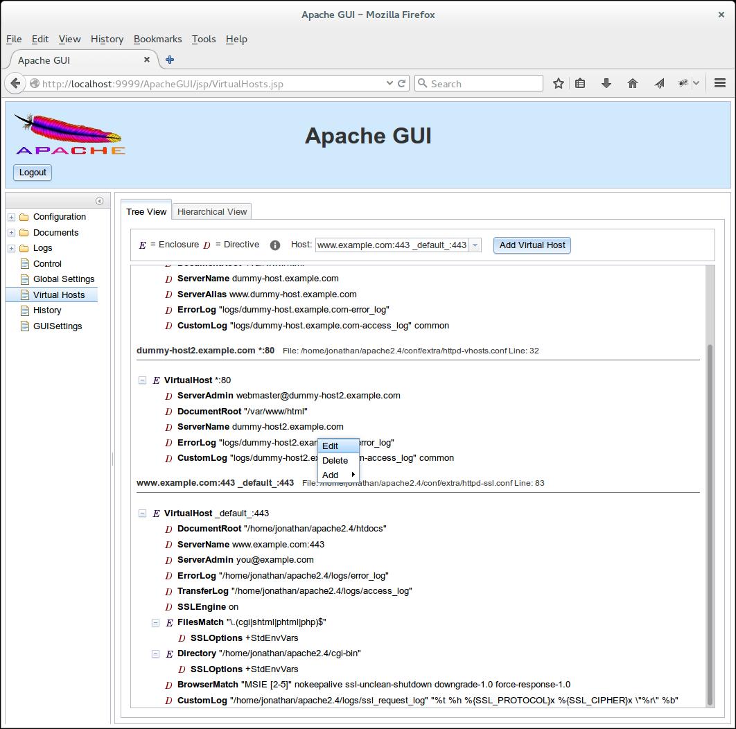 Apache GUI download | SourceForge net