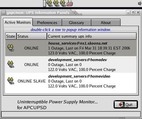 Apcupsd UPS control software download | SourceForge net