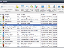 APK File Manager download | SourceForge net