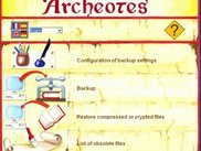0 - Archeotes startup screen