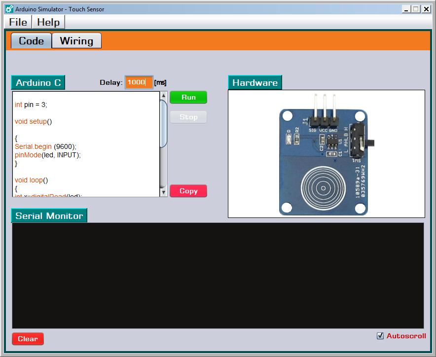 circuit diagram in parallel arduino simulator download sourceforge net  arduino simulator download sourceforge net
