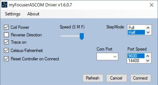 Arduino ASCOM Focuser Pro DIY download | SourceForge net