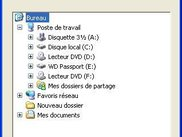 Ajout d'un dossier (Windows XP)