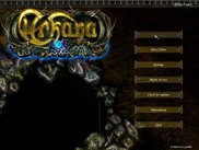 The main menu, design by moOshiE. Notice lots of new buttons
