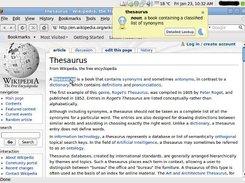 Artha ~ The Open Thesaurus download   SourceForge net