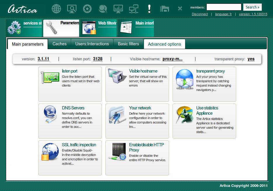 Artica Proxy Appliance download   SourceForge net