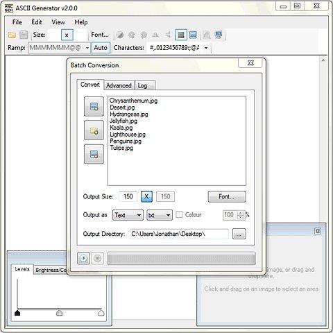 Ascii Generator 2 download   SourceForge net