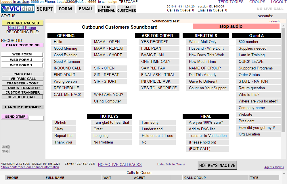 Asterisk GUI client, VICIdial download | SourceForge net