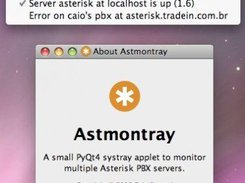 OSX version of Astmontray running on Leopard