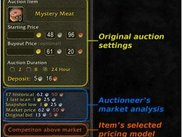 Vital information at your fingertips when creating auctions