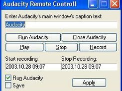 Audacity Remote Controll download | SourceForge net