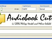 Audiobook Cutter 0.4.2: Splash screen, German